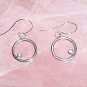 Sterling Silver Sky blue Topaz - Earrings