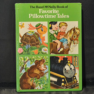 """""""Favorite Pillowtime Tales"""" Children's Book by Rand McNally 1978"""