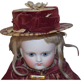 Rare Early Doll Hat