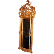 Antique Gilt Grape Harvest Mirror