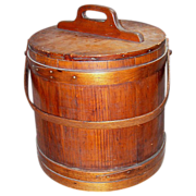 SALE Antique Firkin