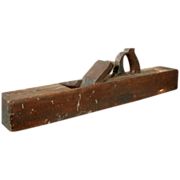"Antique H. Chapin 26"" Bench Plane"