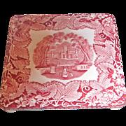 Mason's Vista Pink 6 Inch Trivet