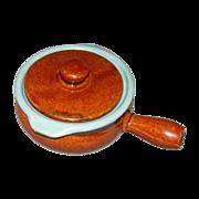 Country Fare Individual Stick Handle Stoneware Casseroles/Crocks w/Lids