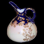 Vintage Custard Glass Ewer/Pitcher