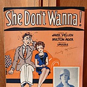 She Don't Wanna – 1927