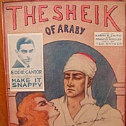 The Sheik Of Araby – 1921