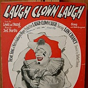 Laugh Clown Laugh – 1928