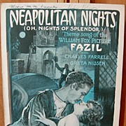 Neapolitan Nights – 1925