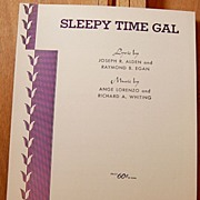 Sleepy Time Gal – 1925