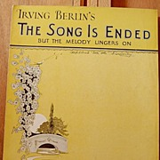 The Song Is Ended but The Melody Lingers ON – 1927