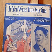 If You Were The Only Girl – 1929