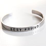 Custom Hand stamped Cuff Aluminum Bracelet- Men's Bracelet- Hand Stamped Bracelet-Personalized Bracelet- Men's Accessories- Men's Jewelry