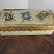 Wood Stamp Box