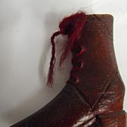 Folk Art Carved Shoe