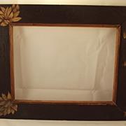 Art Nouveau Pyrography Frame