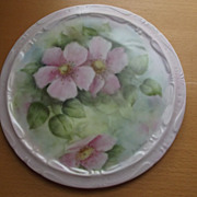 Tea Trivet With Dogwood