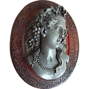French Victorian Box With Cameo