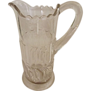 Clear Pattern Glass Creamer