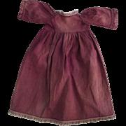 Large Pink Cotton Dress