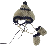 Tiny Knit Hat and Mittens
