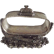 Figural Napkin Ring With Birds