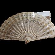 Victorian Wedding Fan