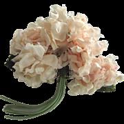 Pink Flower Corsage Pin
