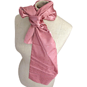 Vintage Dusty Rose Colored Scarf