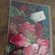 Victorian Birthday Card