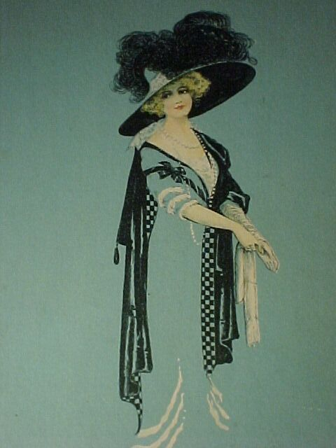 Elegant Victorian Lady Picture