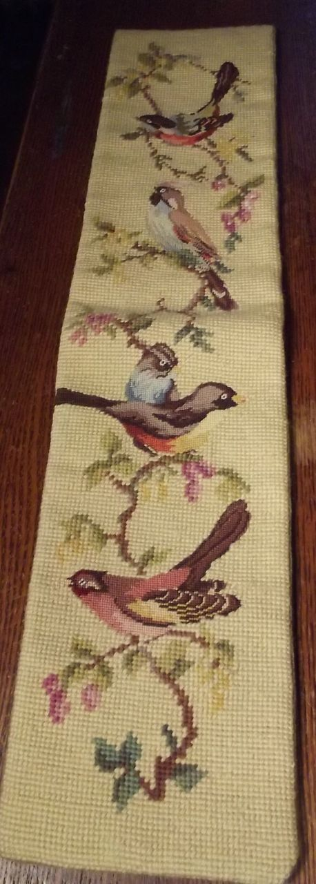 Long Tapestry With Birds