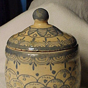 Old Mexican Small Container