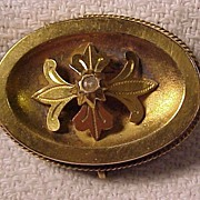 Early  Gold Filled Pin