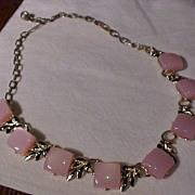 Pretty Pink Vintage Necklace