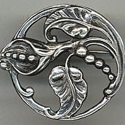 Large Sterling Pin