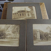 Photo of Three Old Buildings