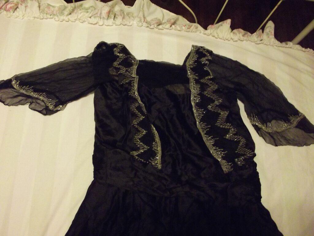 Fabulous Beaded  Flapper Dress