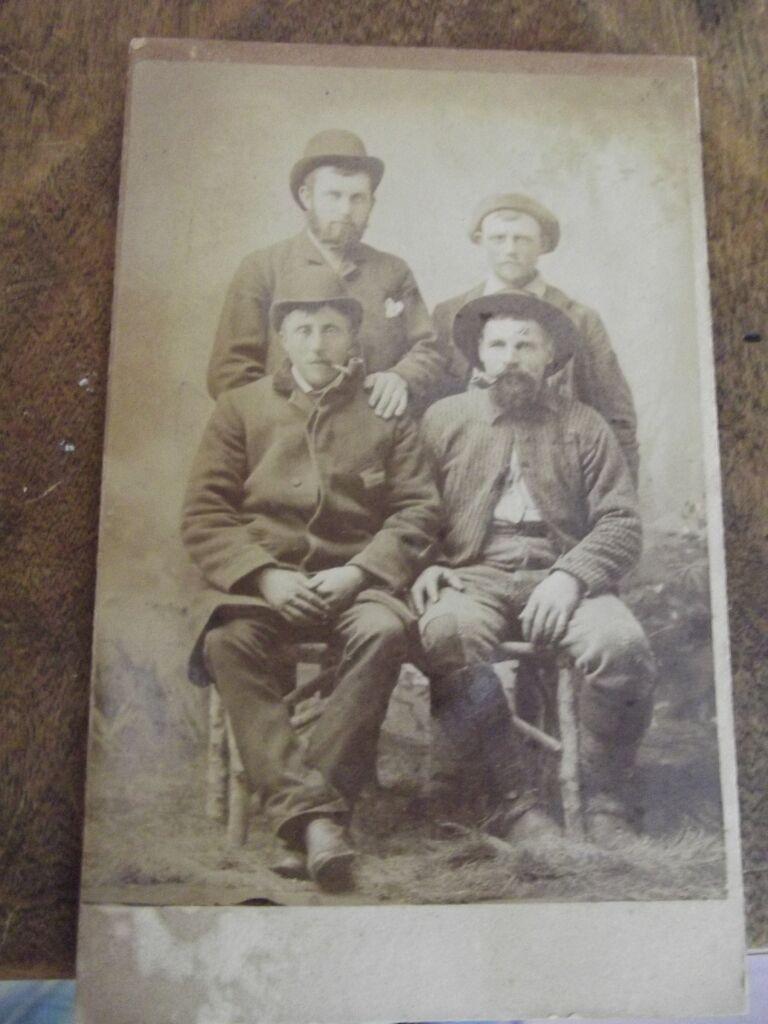 CDV Of Four Men