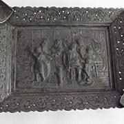 Silver Plate Denmark Ashtray