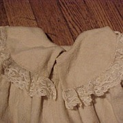 Pair of Wonderful Old Flannel Coats For Large Dolls