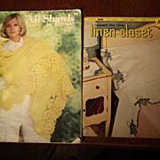 Two Vintage Crochet Books
