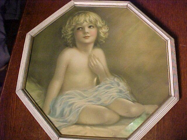 Beautiful Old Child Print