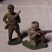 Two Lead Soldiers
