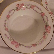 Set of Five French Nut Dishes