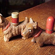 Two Vintage Scotty Dog Lighters