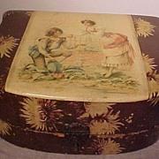 Pretty Victorian Celluloid Box