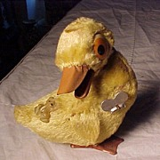 Occupied Japan Wind Up Duck Toy