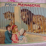 "Rare Tuck's Children's Book "" Father Tuck's Menagerie"""