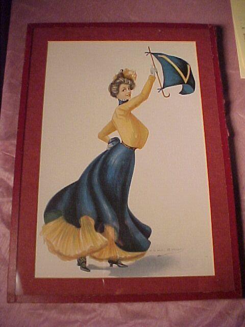 "Christy Print ""Virginia Girl"""